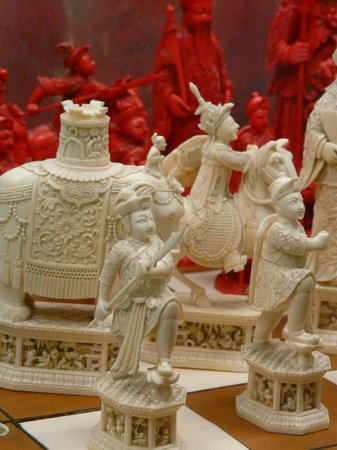 MAK - Austrian Museum of Applied Arts / Contemporary Art : Jeu d'échecs chinois