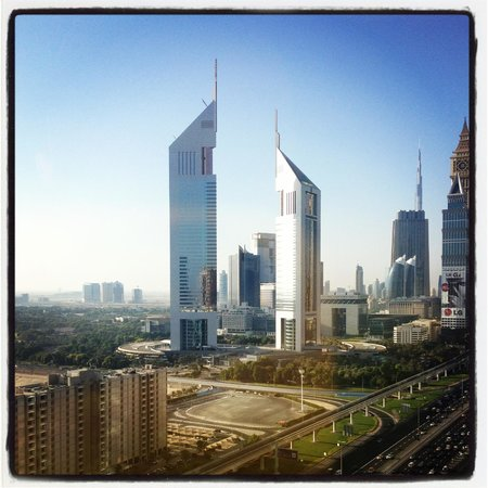 Ascott Park Place Dubai: View from 2306