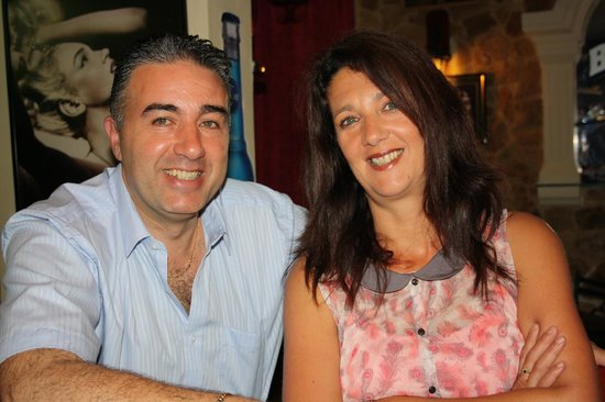 Geoff and Marlene - The Owners at the Baron Bar