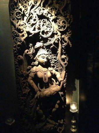 mayur: Indian decoration