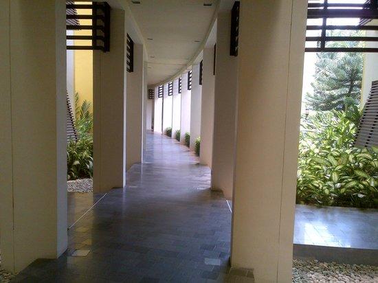 Novotel Palembang Hotel & Residence: Suasana tenang