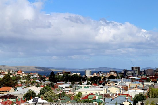 Rydges Hotel Hobart : Outlook from room 24