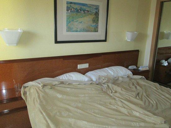 Hotel Los Patos Park: Doppelbetten