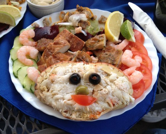 Cookie's Crab Shop : Crab salad