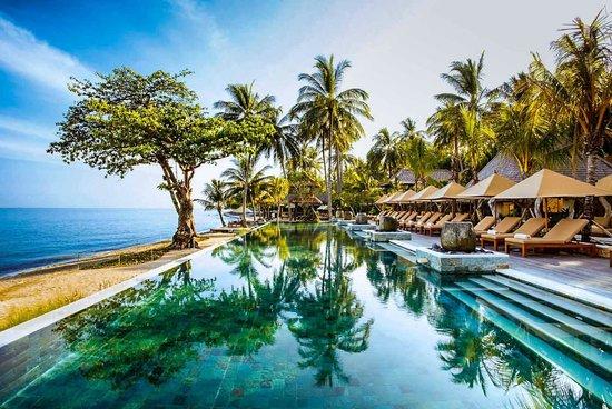 Qunci Villas Hotel: Morning at the beach