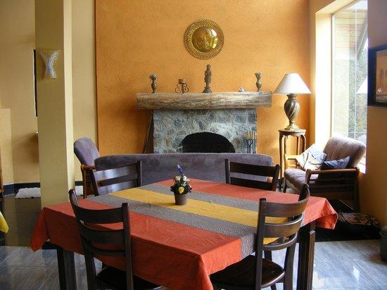 Dumbanagala Chalet: Fireplace