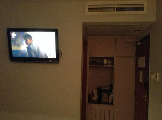 "Fragrance Hotel - Imperial: 32"" flat screen tv - limited channels"