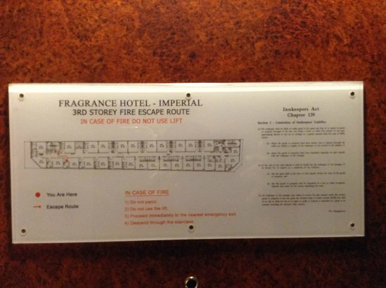 Fragrance Hotel - Imperial: Floor plan