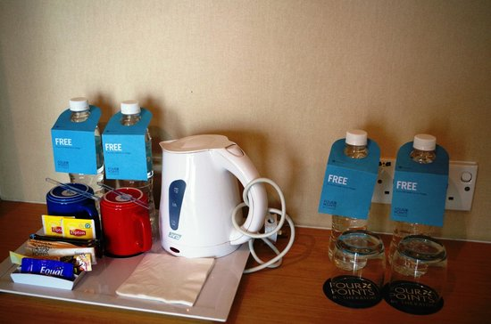 Century Kuching Hotel : Coffee/Tea Set UP