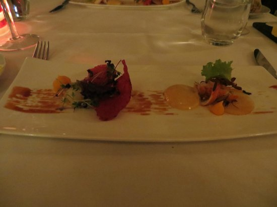 Restaurant Rozemarijn : First fish course