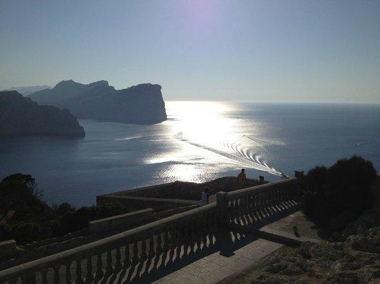 Cap de Formentor: Contrasti di luce