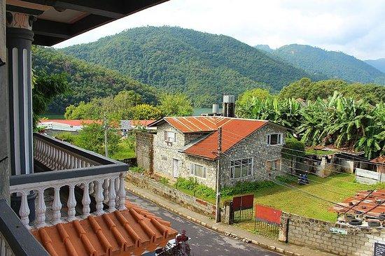 Hotel Grand Holiday: From the room balcony