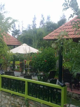 Phu Thinh Boutique Resort & Spa: looking from breakfast