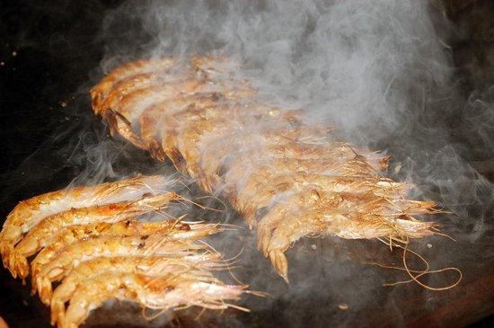 Restaurante Mandoya: Langostinos