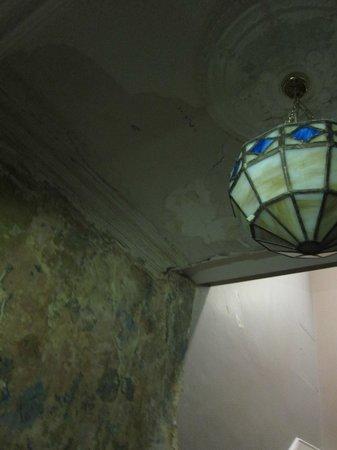 Leeson Inn Downtown: Hallway ceiling