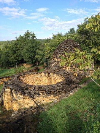 Les Cabanes du Breuil: la construction