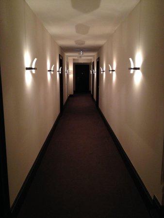 Schloss Kartzow: Gang zu den Zimmern