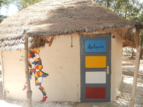 Ma petite Camargue : case arlequin