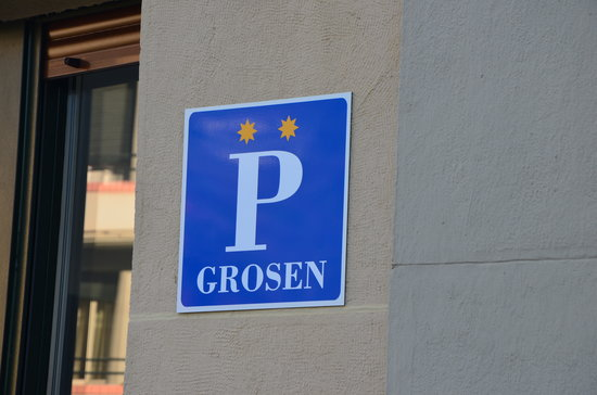 Pension Grosen: fachada principal