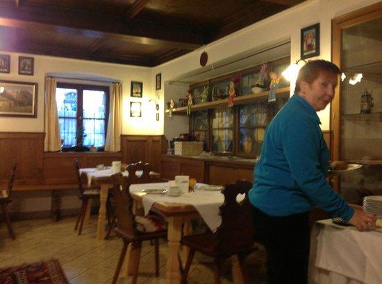 Pension Dedlerhaus: Breakfast room
