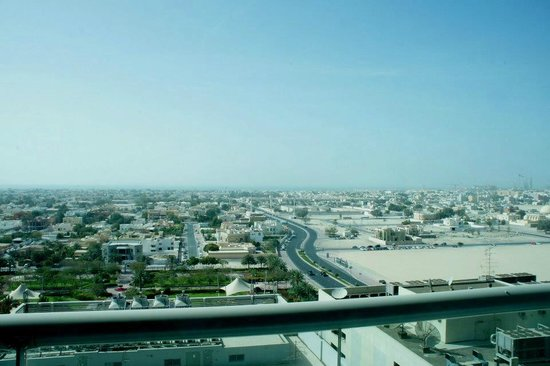 Four Points by Sheraton Sheikh Zayed Road, Dubai: The view
