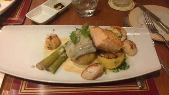 Carrick Lodge Restaurant: Ottima portata