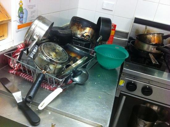 Bondi Beachouse YHA: you're lucky if you can find a clean cooking utensil. worst kitchen I've seen. lazy staff.