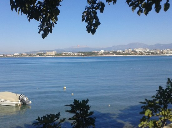 Barut Acanthus & Cennet: View of the beach from Side