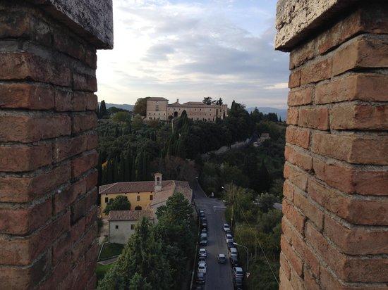 Tempio di Sant'Angelo - Chiesa di San Michele Arcangelo: dalla torre