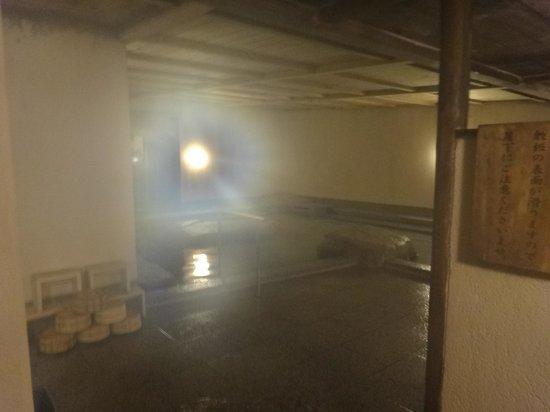Dogo Onsen Yamatoya Honten: 地下のお風呂