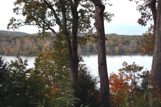 Mohican Lodge and Conference Center: View from the lodge
