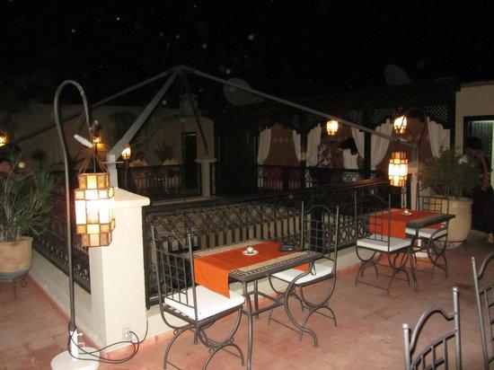 Riad le Clos des Arts : Part of roof terrace