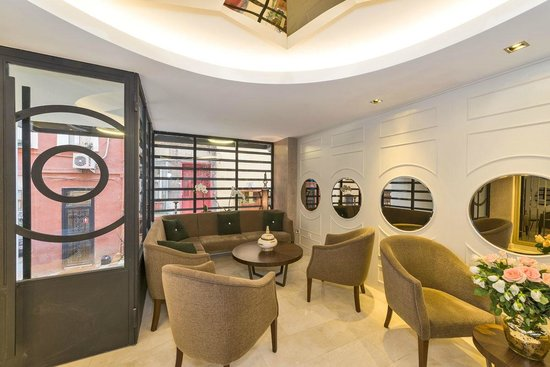 Suiteness Taksim Hotel: LOBBY