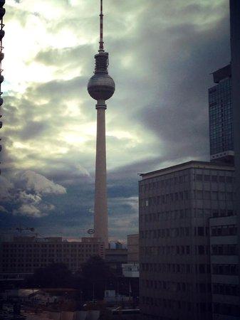 Holiday Inn Berlin Centre Alexanderplatz: view from an executive room