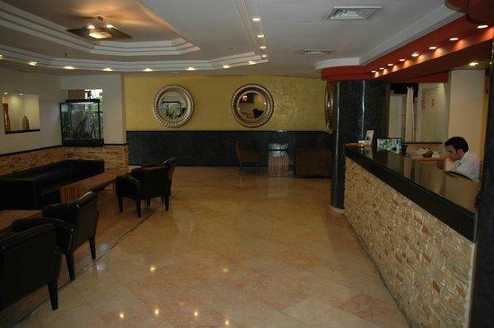 Montefiore Hotel: холл отеля