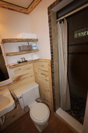 Cedaredge Lodge: Bathroom detailing