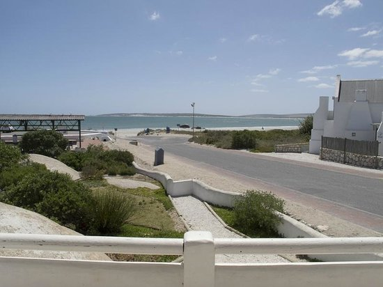 Paternoster Dunes Boutique Guest House : View from terrace (covered area left)