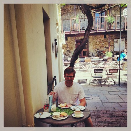 Cape Heritage Hotel : Breakfast in the courtyard