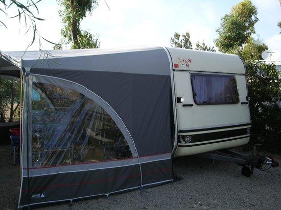 Camping Caravaning La Manga: Caravaning Camping Chèque 80 m2