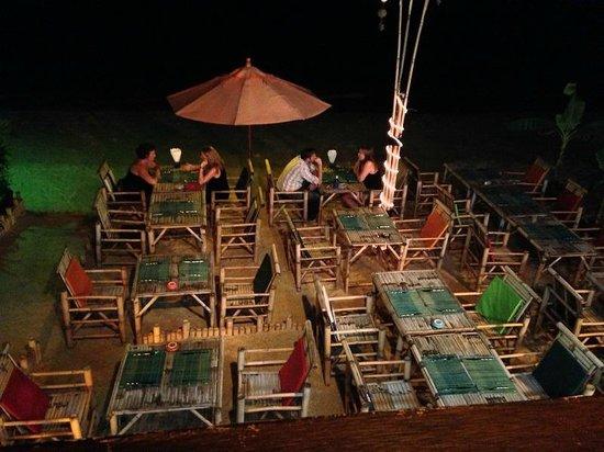K beach: Le Cabanon Restaurant