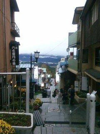 Ikaho Stone Step Street : 石段からの眺め