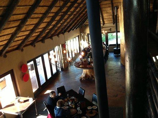Kariega River Lodge: Dining Room