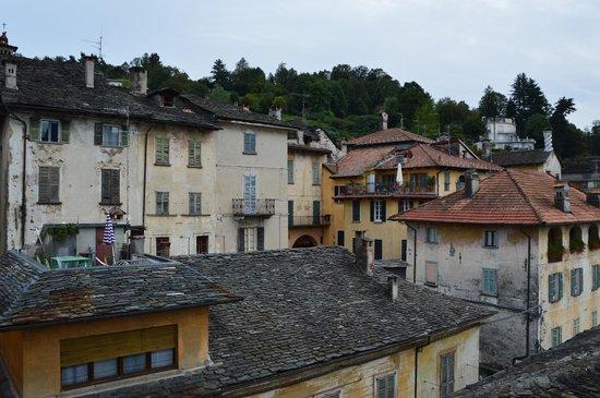 Hotel Aracoeli: Il borgo visto dal terrazzo