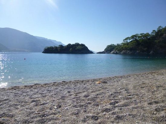 Olympos Hotel: The Blue Lagoon - just a short bus ride away