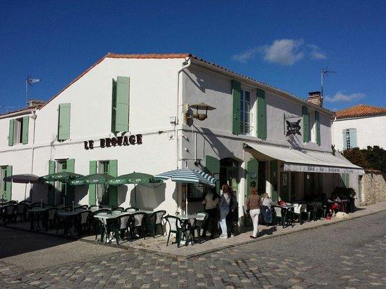 Hotel restaurant Le Brouage : Zoulie et calme