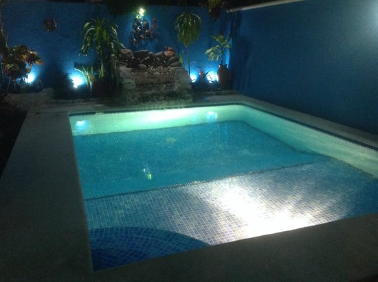Villas Las Anclas : Pool at Night