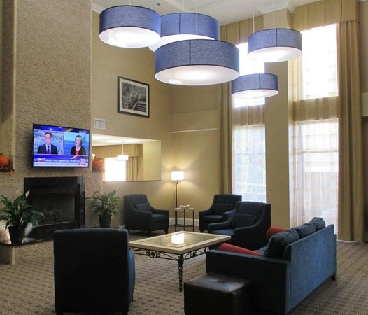 Comfort Suites University - Research Park: Lobby