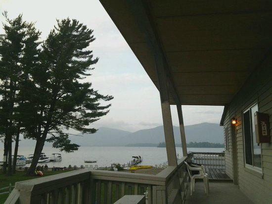 Golden Sands Resort on Lake George: Golden Sands View