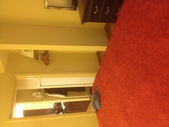 Country Inn & Suites By Carlson, Bloomington at Mall of America: From the bed to the living room