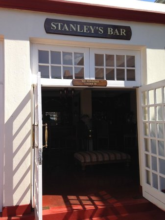Livingstone Room at Victoria Falls Hotel : Stanley's Bar